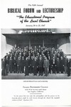 5th Annual Biblical Forum and Lectureship -- The Educational Program of the Local Church (1947)
