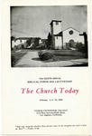 8th Annual Biblical Forum and Lectureship -- The Church Today (1950)