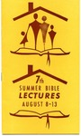 7th Annual Summer Bible Lectures -- The Christian Home (1964)