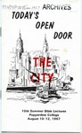 10th Annual Summer Bible Lectures -- The City: Today's Open Door (1967)