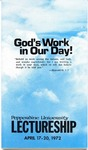 Pepperdine University Lectureship -- God's Work in Our Day! (1972)