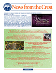 News from the Crest (November 2013)