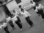 Children Dancing (Ecuador) by Liz Austin